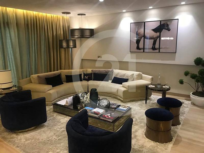 3 Bedroom branded villa available for sale in DUBAILAND BY  FENDI designs