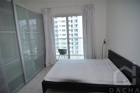 Studio for Rent in Dubai Marina, Dubai - 12 cheques / Fully furnished / Marina View Tower