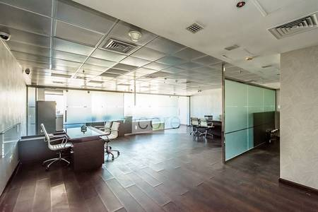 Office for Rent in Jumeirah Lake Towers (JLT), Dubai - Furnished and Fitted Office   Mid Floor