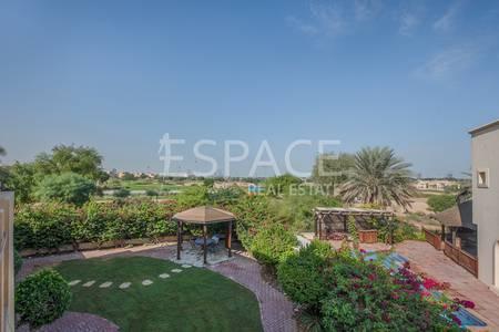 5 Bedroom Villa for Sale in Arabian Ranches, Dubai - Matured Garden | Golf Course View | Type 11
