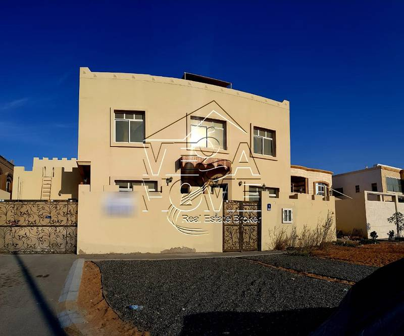 Stand - Alone 5 Master Bed Villa in Khalifa City A