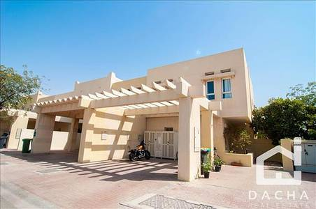 3 Bedroom Villa for Sale in The Lakes, Dubai - Vacant on transfer / Single Row