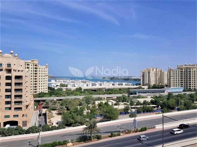 1BR |Sea View | Fairmont South|Palm Jumeirah |For Sale