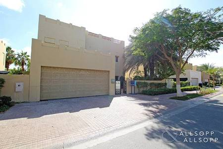 4 Bedroom Villa for Rent in The Lakes, Dubai - Type E1 | The Lakes | Hattan | Available