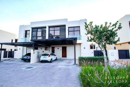 4 Bedroom Villa for Sale in DAMAC Hills (Akoya by DAMAC), Dubai - Vacant On Transfer   Opposite The Pool
