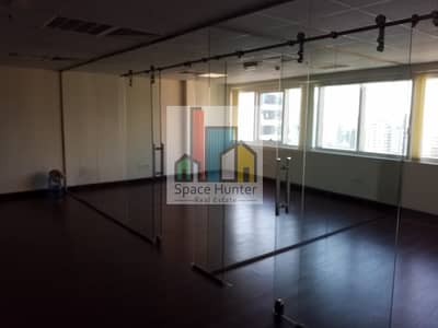 Office for Rent in Jumeirah Lake Towers (JLT), Dubai - Fully Fitted and partitioned office- HDS  Tower