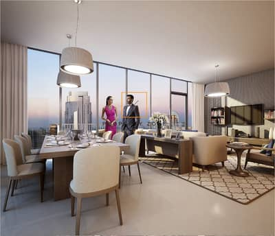 2 Bedroom Apartment for Sale in Downtown Dubai, Dubai - Grab Now Huge 2 BR in BR BLVD Heights T2