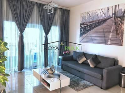 1 Bedroom Apartment for Rent in Dubai Marina, Dubai - Fully furnished  1 B/R apartment with Balcony
