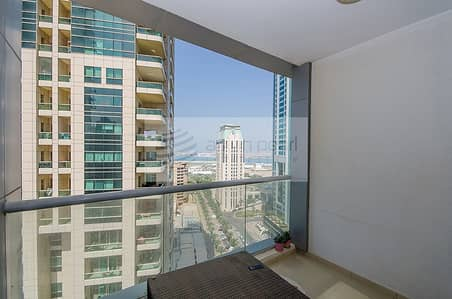 Studio for Rent in Dubai Marina, Dubai - Furnished | AC Included | Flexible Chqs.