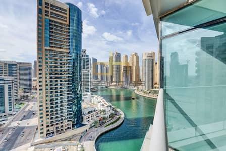 2 Bedroom Flat for Rent in Dubai Marina, Dubai - 2 Bed Aptt I Part Marina View I Trident BaySide