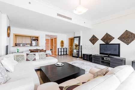 1 Bedroom Flat for Rent in Palm Jumeirah, Dubai - Managed | Full Sea View | Available Now