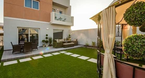 3 Bedroom Villa for Rent in Al Samha, Abu Dhabi - 3BR Villa I Huge backyard I 85k only.