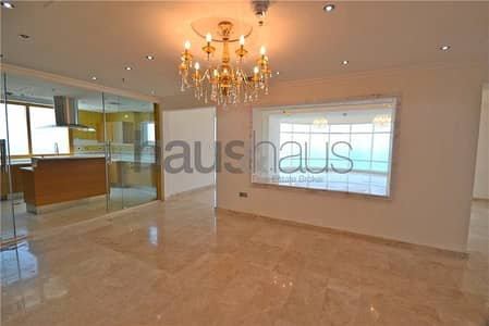 4 Bedroom Flat for Rent in Dubai Marina, Dubai - Fully Upgraded  | Unfurnished | Sea View
