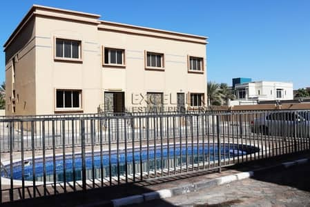 4 Bedroom Villa for Rent in Khalifa City A, Abu Dhabi - Well Maintained 4 Bedroom Villa with Shared Pool
