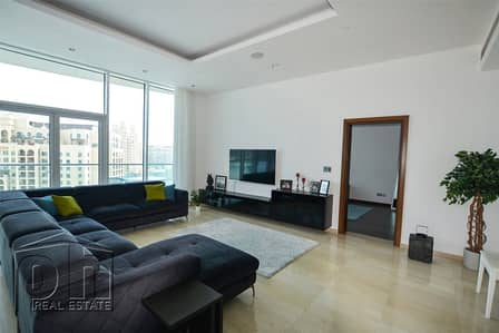 3 Bedroom Apartment for Rent in Palm Jumeirah, Dubai - Luxury 3BR High Floor Apartment SeaViews