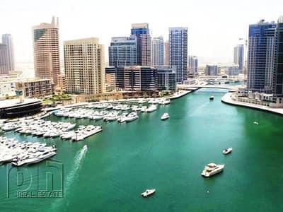 2 Bedroom Flat for Rent in Dubai Marina, Dubai - Mid Floor 2 Bed Marina and  JBR Views Available Now