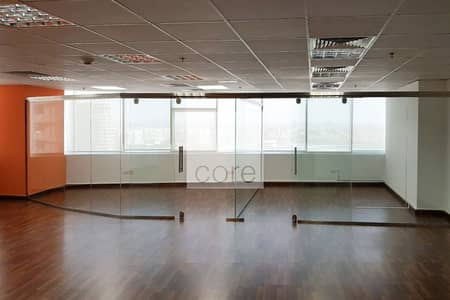 Office for Rent in Jumeirah Lake Towers (JLT), Dubai - Fitted Corner Unit | High Floor | DMCC