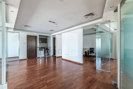 Office for Rent in Jumeirah Lake Towers (JLT), Dubai - Fully Fitted and Partitioned   Mid Floor