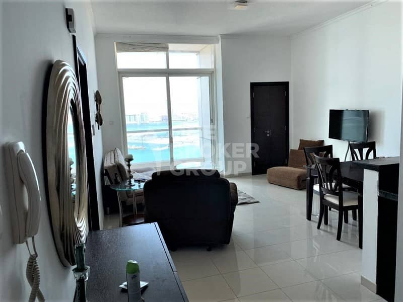 Spacious 1 Bed with Sea View |High Floor