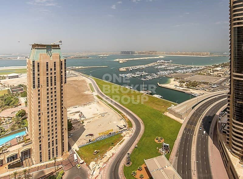 2 Spacious 1 Bed with Sea View |High Floor