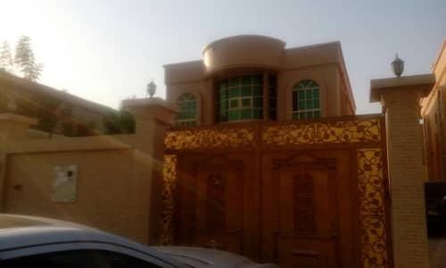 5 Bedroom Villa for Rent in Al Zahraa, Ajman - villa for rent new villa