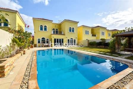 3 Bedroom Villa for Rent in Jumeirah Park, Dubai - Upgraded Villa   Swimming Pool  Extended