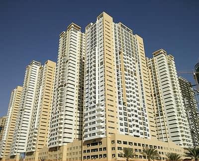 فلیٹ 2 غرفة نوم للايجار في الصوان، عجمان - شقة في أبراج عجمان ون الصوان 2 غرف 38000 درهم - 3635363