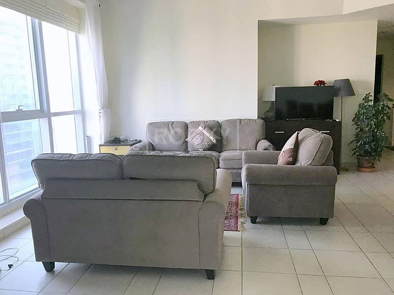 Furnished 2 Bedroom Apartment in The Torch Tower