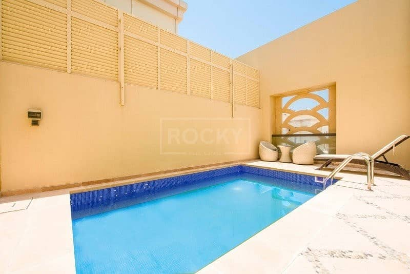 25 Massive Penthouse with Sea View   Sadaf 8   Marble Floors