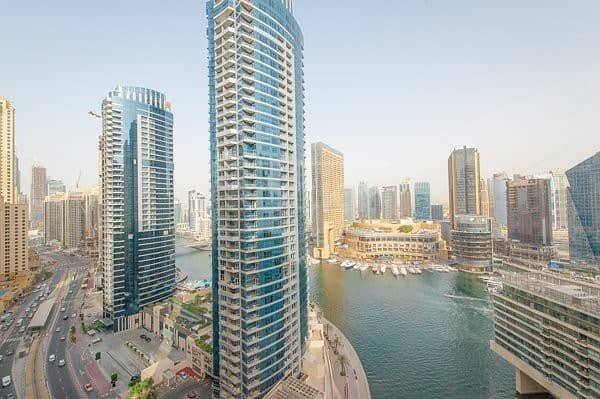 Fully Furnished 1 Bed with Marina View in JBR