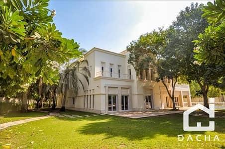 6 Bedroom Villa for Sale in Emirates Hills, Dubai - Large golf view plot / Ex Emaar show villa