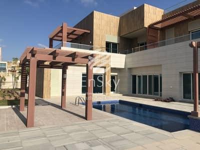 6 Bedroom Villa for Rent in Marina Village, Abu Dhabi - Brand New 6 Bedroom Corner + Maid & Driver Room