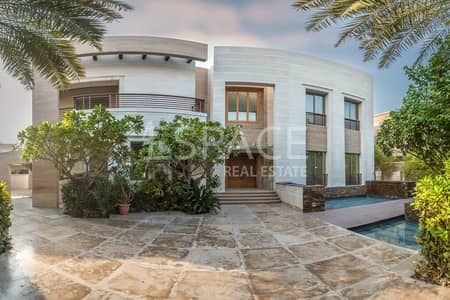 5 Bedroom Villa for Rent in Emirates Hills, Dubai - Unique Villa - P Sector - Full Lake View