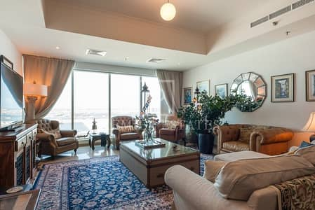 3 Bedroom Apartment for Rent in Dubai Marina, Dubai - Exquisite and Spacious 3BR with stunning full Sea views