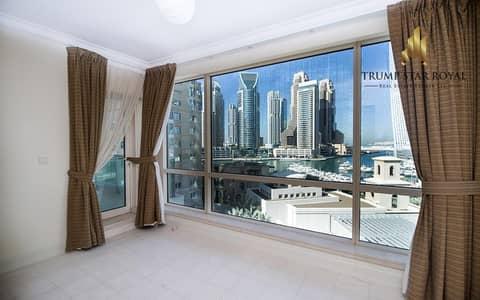 2 Bedroom Apartment for Sale in Dubai Marina, Dubai - Full Marina View 2Br+Study in Emaar Six Towers Marina