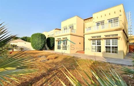 4 Bedroom Villa for Rent in The Springs, Dubai - Springs 6 - Full Lake View - Type 6