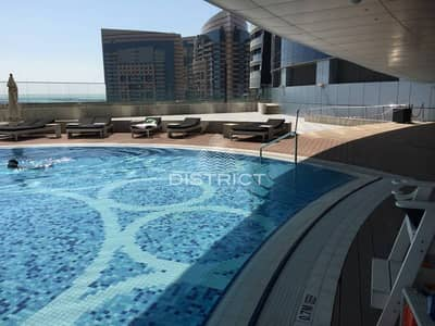 2 Payments - Sea View 3BR in Etihad Towers