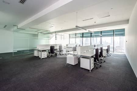 Office for Rent in DIFC, Dubai - Fitted office unit | High floor |  Index