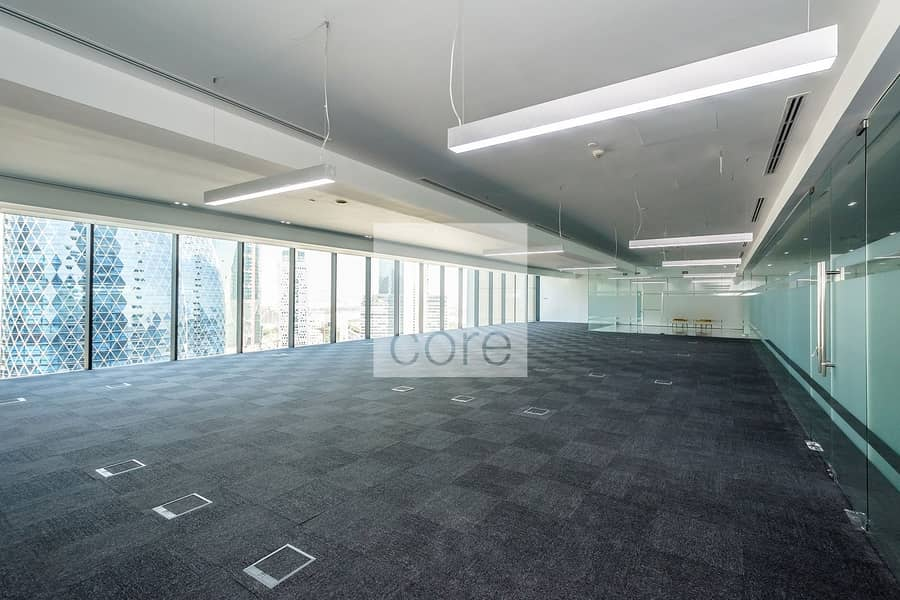 Fitted office I High floor I Index Tower