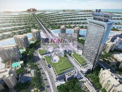 Higher Floor!!!! Amazing Views!!!! OFF Plan!!! Luxurious Studio Apartment for Sale in The Palm Tower