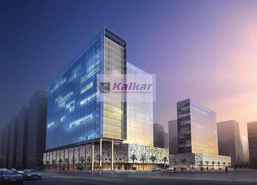 Business Bay -  Tamani Arts - Shell & Core 440 Sq.Ft  office for sale - Dhs.495