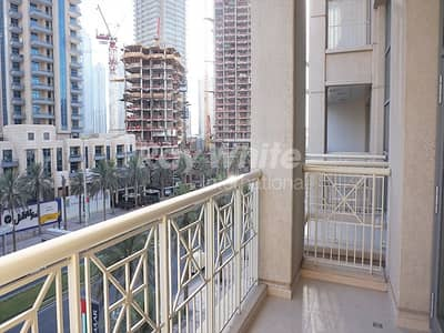 1 Bedroom Apartment for Rent in Downtown Dubai, Dubai - Beautiful 1BR with Partial Fountain View