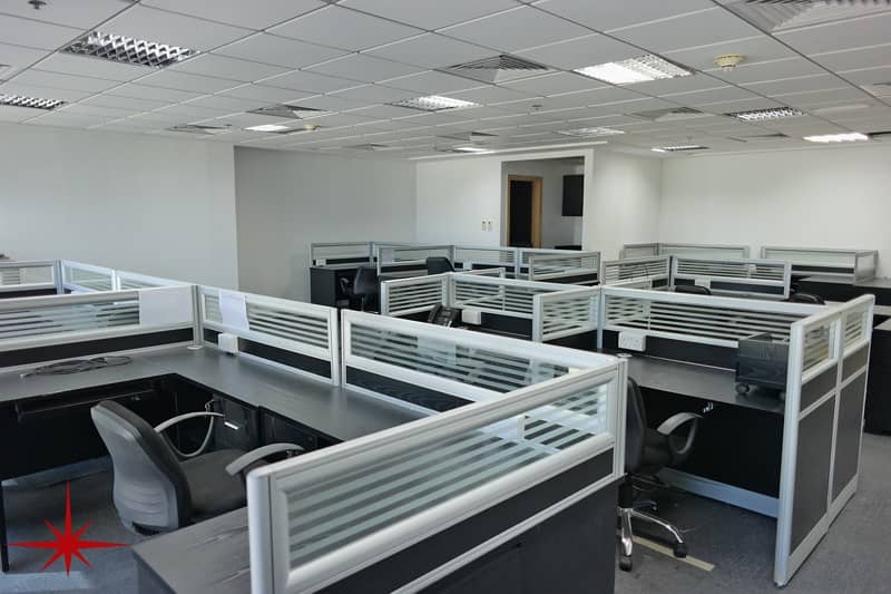 Furnished Office with Community