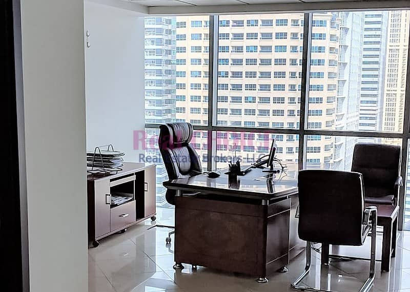 Partly Furnished|Fitted Office|High Floor