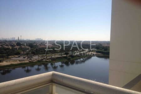 3 Bedroom Apartment for Rent in Jumeirah Heights, Dubai - Available end of Feb | Pool and Lake View