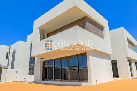 5 Bedroom Villa for Sale in Yas Island, Abu Dhabi - Best Deal | Park Facing | Book @5% only | Single Row