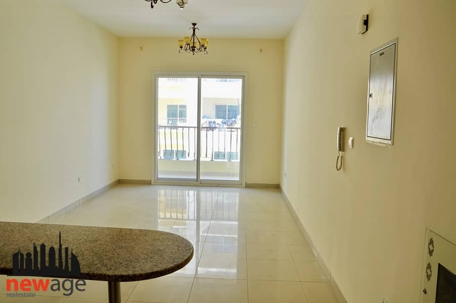 1 Large Studio || Pool View || Al Jawzaa Resi. Intl City Phase 2