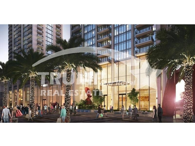3Br+Maid High Floor Apt in Boulevard Heights Downtown Dubai