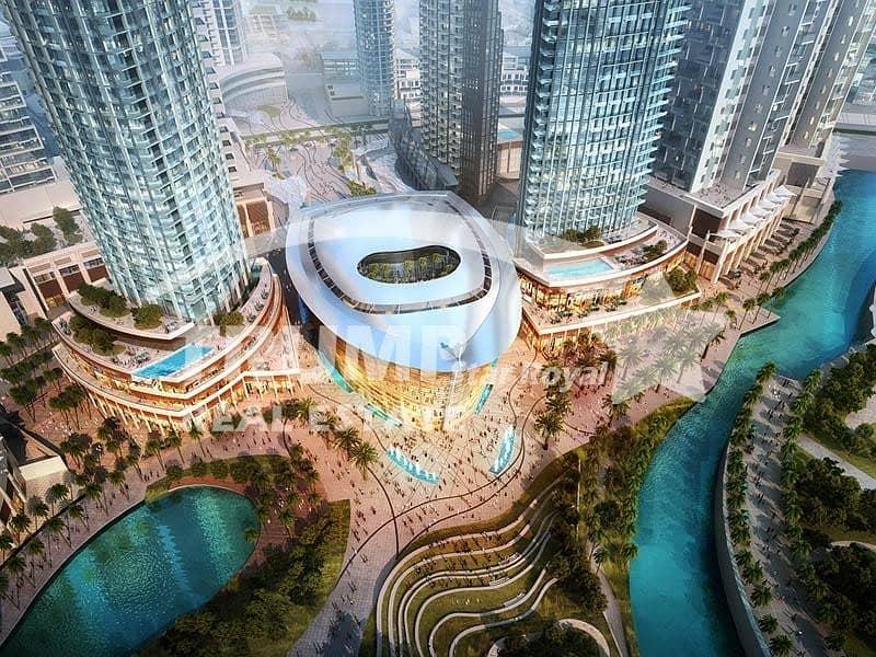 2 3Br+Maid High Floor Apt in Boulevard Heights Downtown Dubai