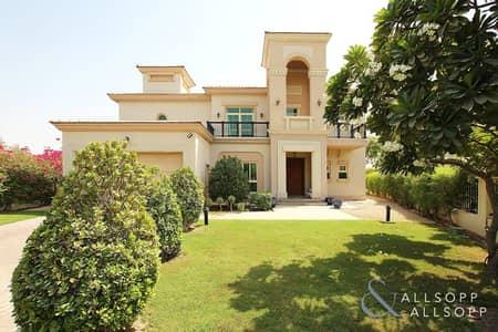 4 Bedroom Villa for Sale in Jumeirah Islands, Dubai - Entertainment Foyer | Large Plot | VOT